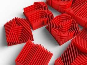 3D字母 3D模型