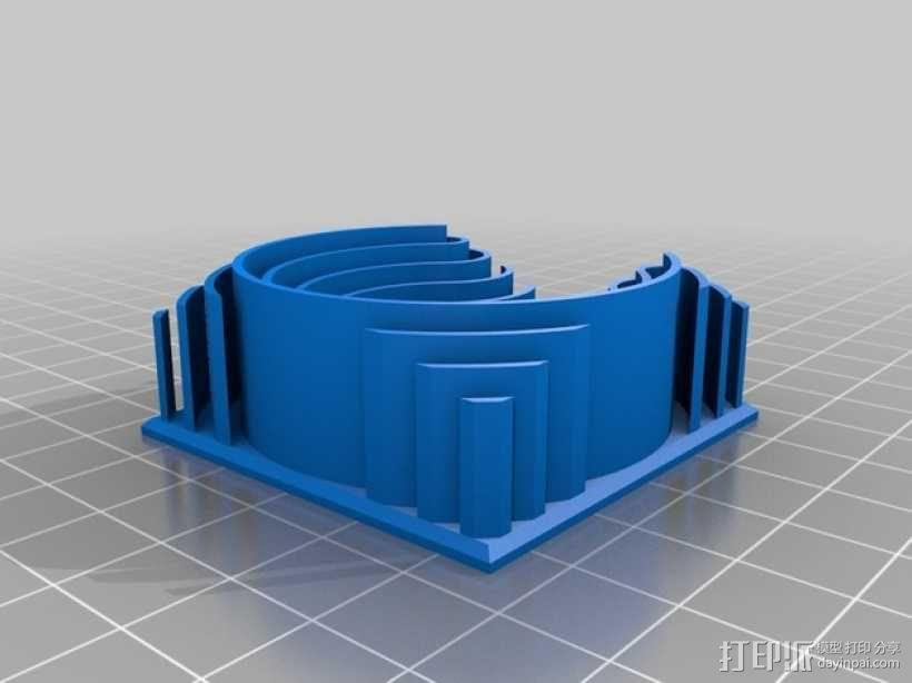 3D字母 3D模型  图21
