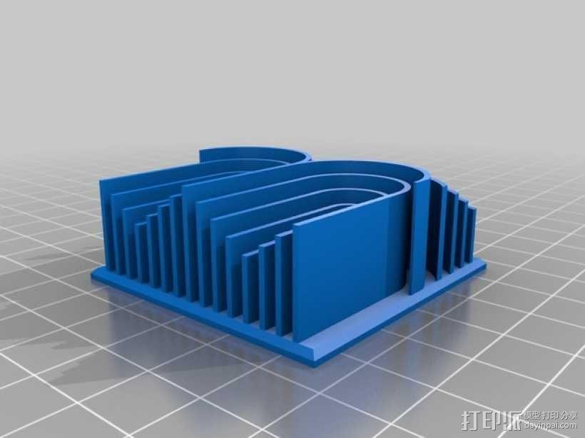 3D字母 3D模型  图22