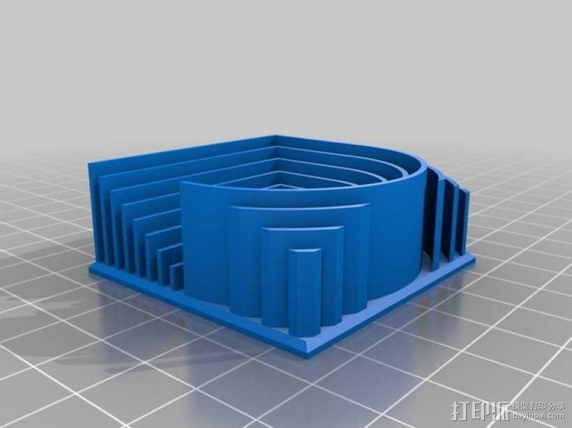 3D字母 3D模型  图25