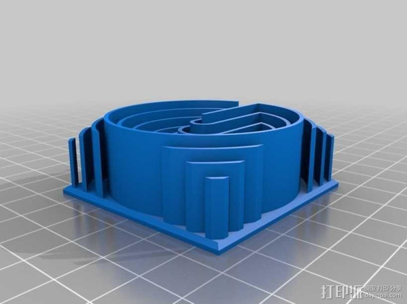 3D字母 3D模型  图34