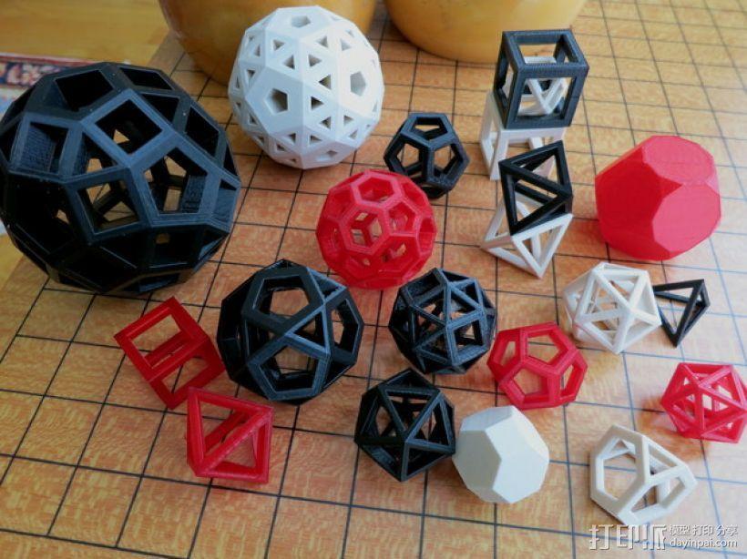 凸多边形 3D模型  图1