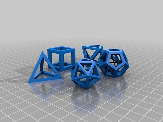 凸多边形 3D模型  图3
