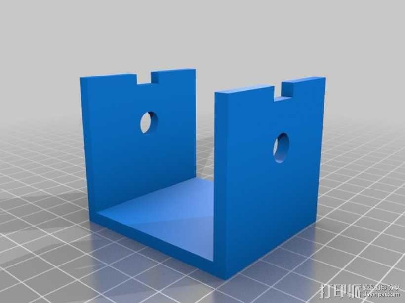 心形手动曲柄 3D模型  图6