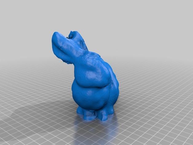 小白兔 3D模型  图8