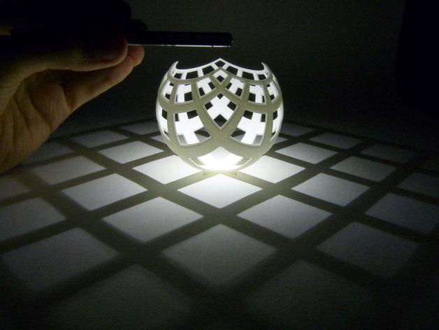 立体投影雕塑 3D模型  图2