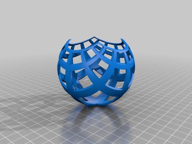 立体投影雕塑 3D模型  图3