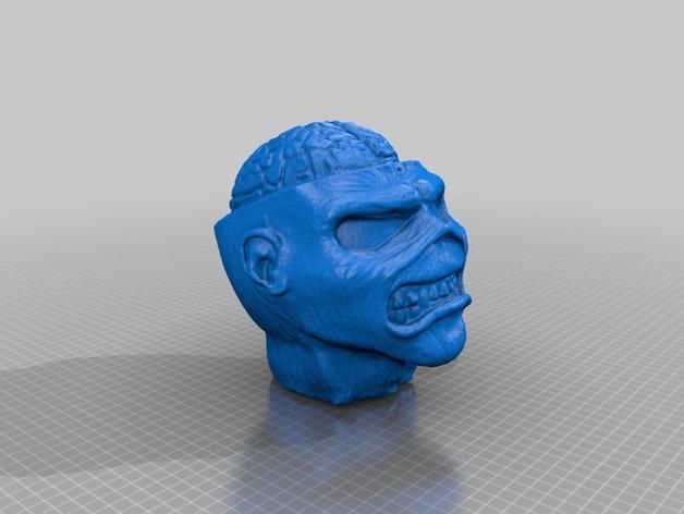 怪物Eddie 3D模型  图1