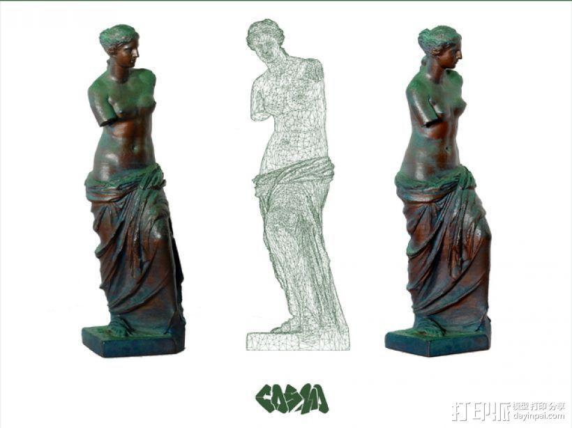 维纳斯 3D模型  图3