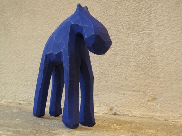 手工木质麋鹿 3D模型  图8