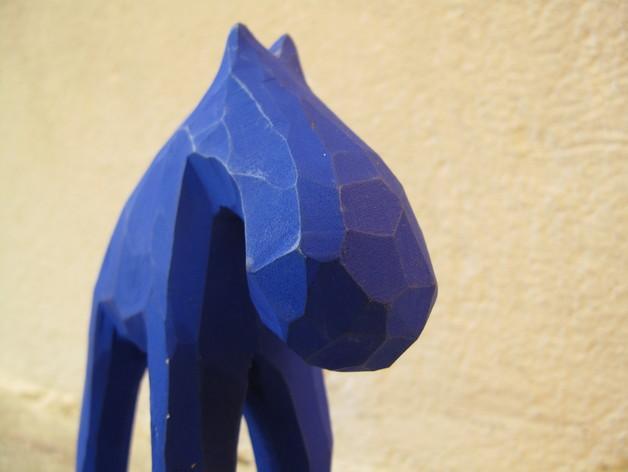 手工木质麋鹿 3D模型  图7