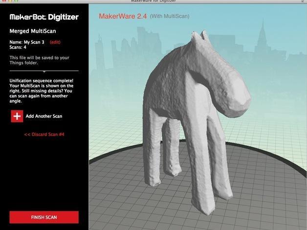 手工木质麋鹿 3D模型  图16
