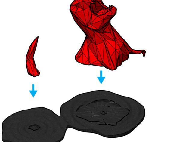 低多边形雕塑 3D模型  图5