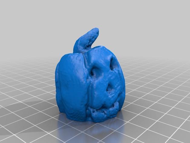 南瓜灯 3D模型  图5