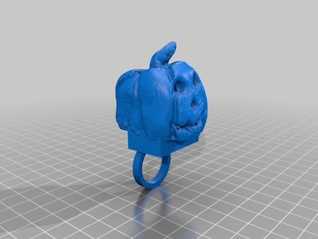 南瓜灯 3D模型  图3