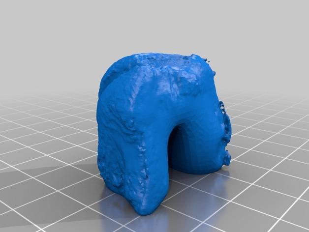 南瓜灯 3D模型  图6
