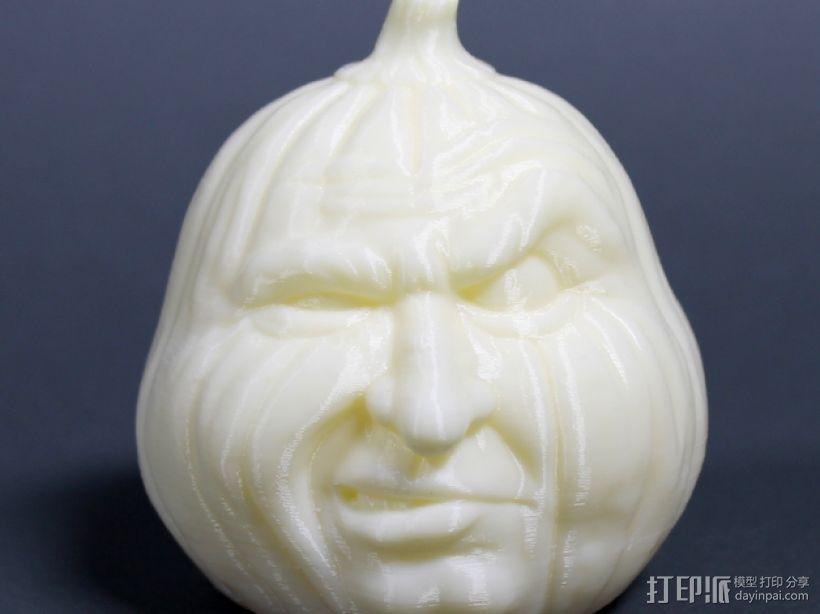 愤怒的南瓜 3D模型  图1