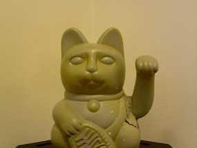 招财猫 3D模型