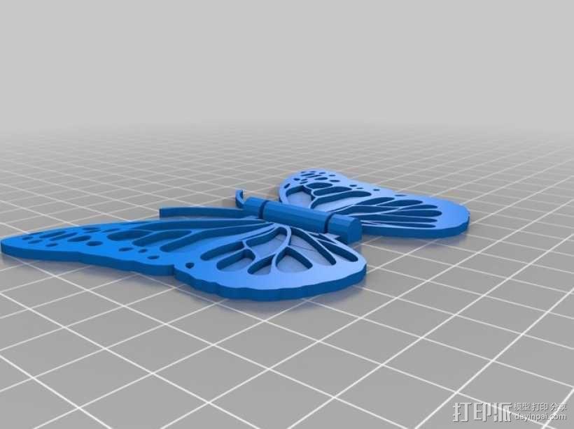 蝴蝶 3D模型  图2
