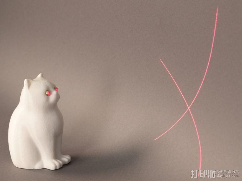 激光猫 3D模型  图1