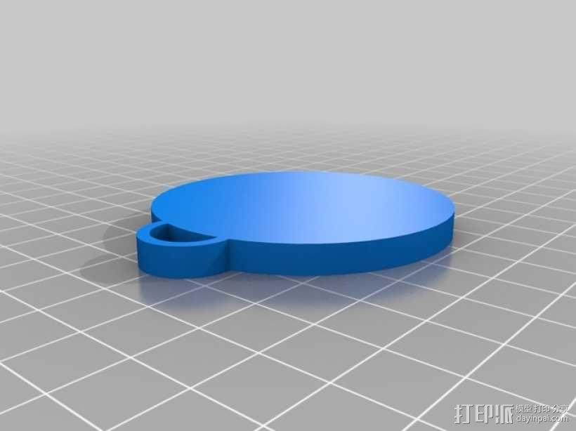 窗饰 3D模型  图4