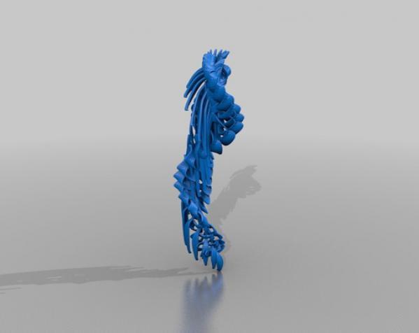 小鸟 3D模型  图2