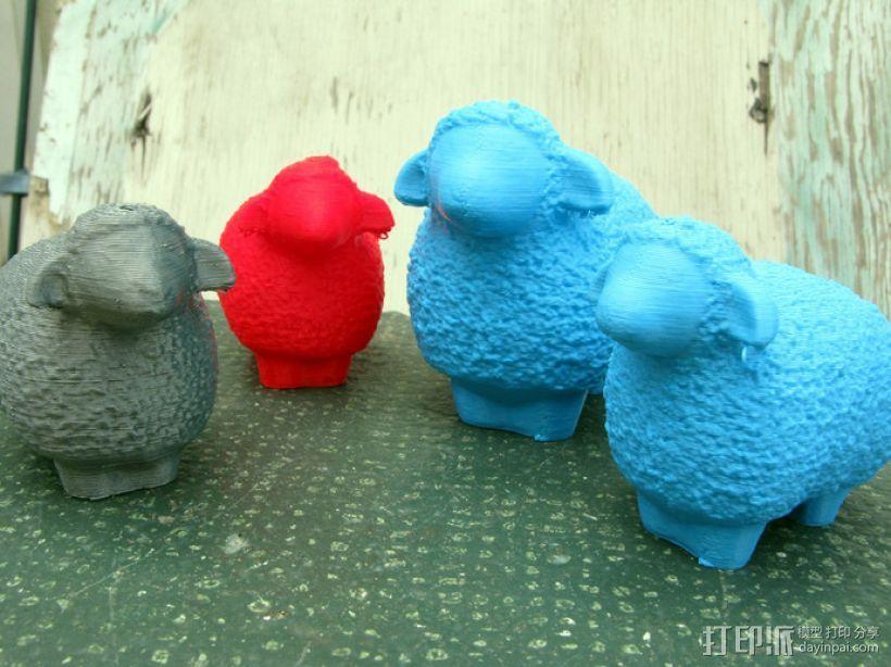 小绵羊 3D模型  图1