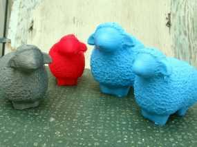 小绵羊 3D模型
