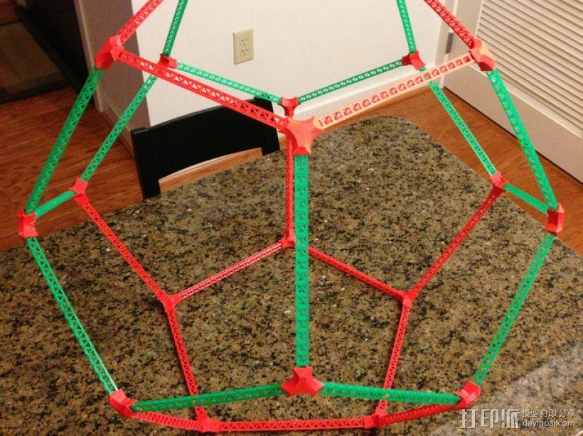 十二面体 3D模型  图1