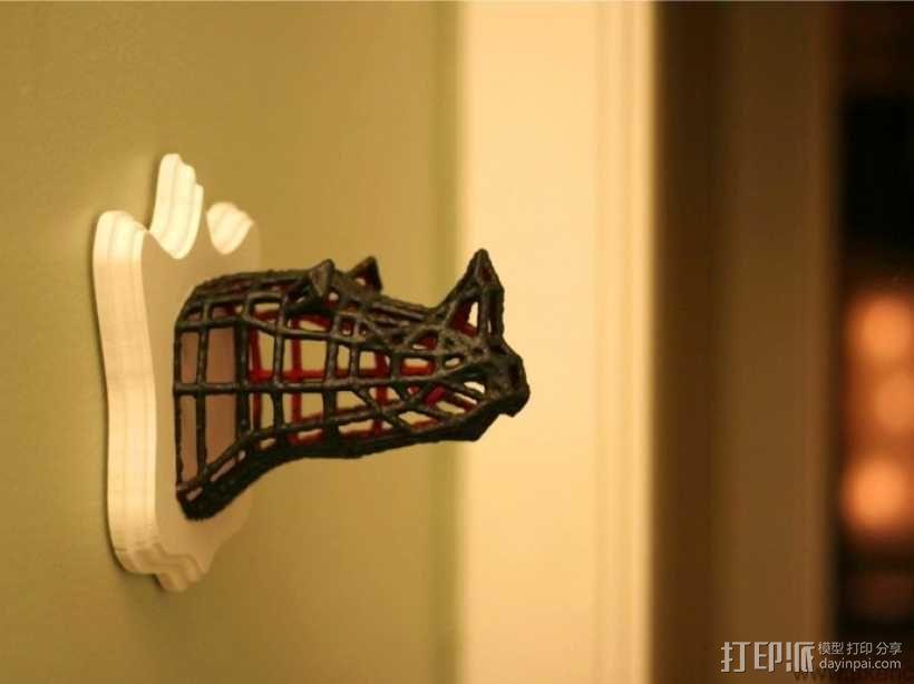 犀牛 3D模型  图4