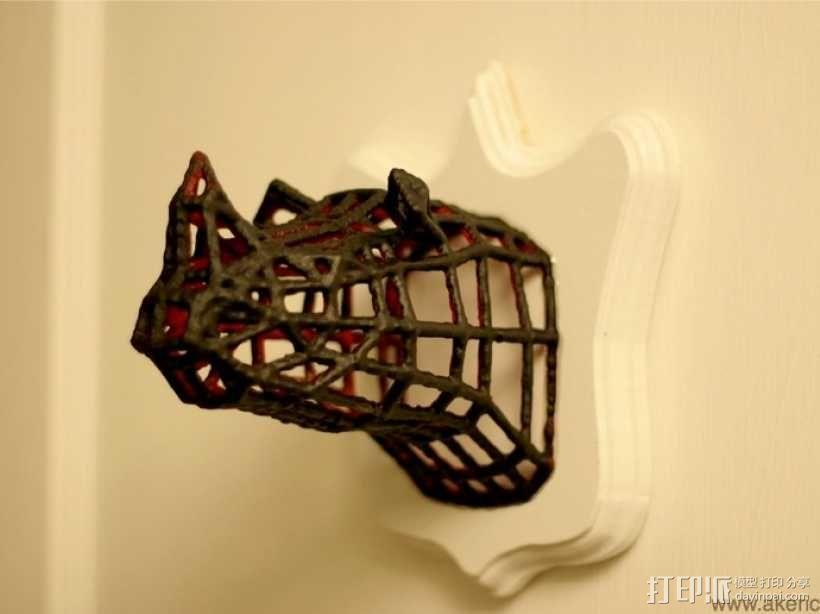 犀牛 3D模型  图5