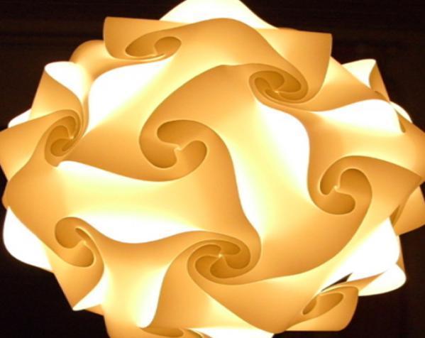 拼图灯罩 3D模型  图1