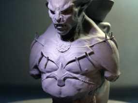 吸血鬼雕像 3D模型