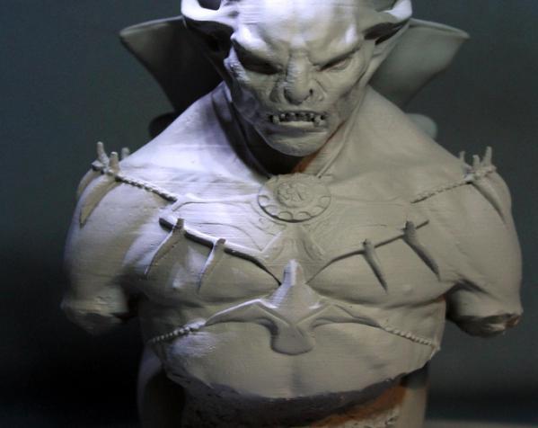 吸血鬼雕像 3D模型  图2
