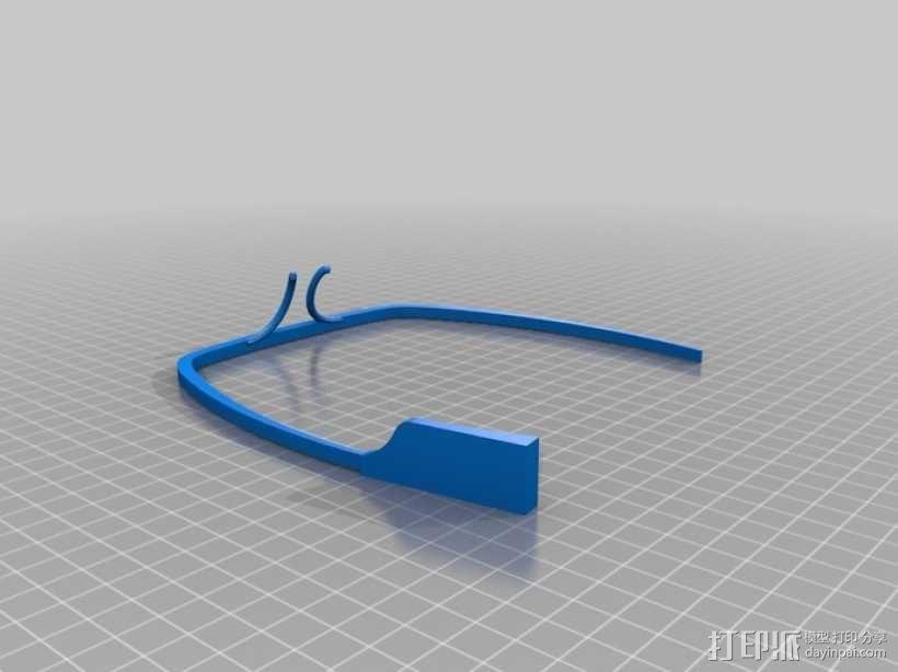 谷歌眼镜 3D模型  图5