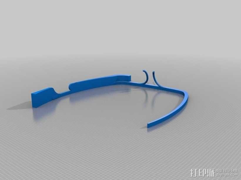 谷歌眼镜 3D模型  图4