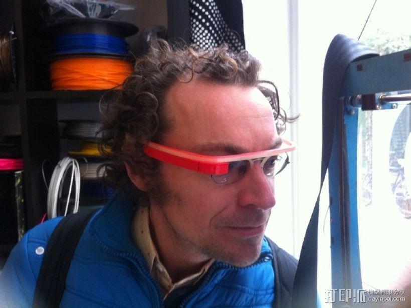谷歌眼镜 3D模型  图3