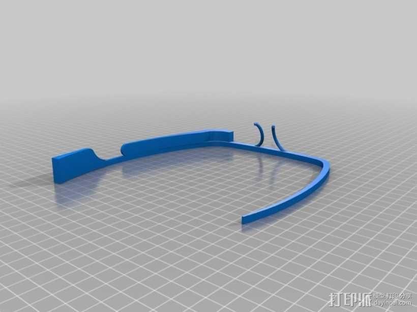 谷歌眼镜 3D模型  图6