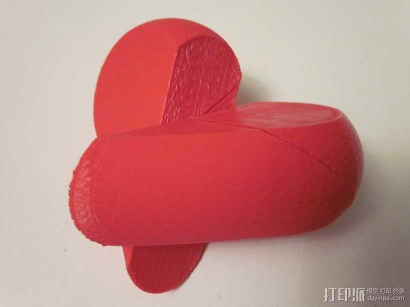 心形锁盒 3D模型  图6