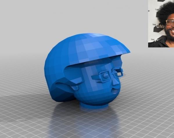 卡通人物头像 3D模型  图5