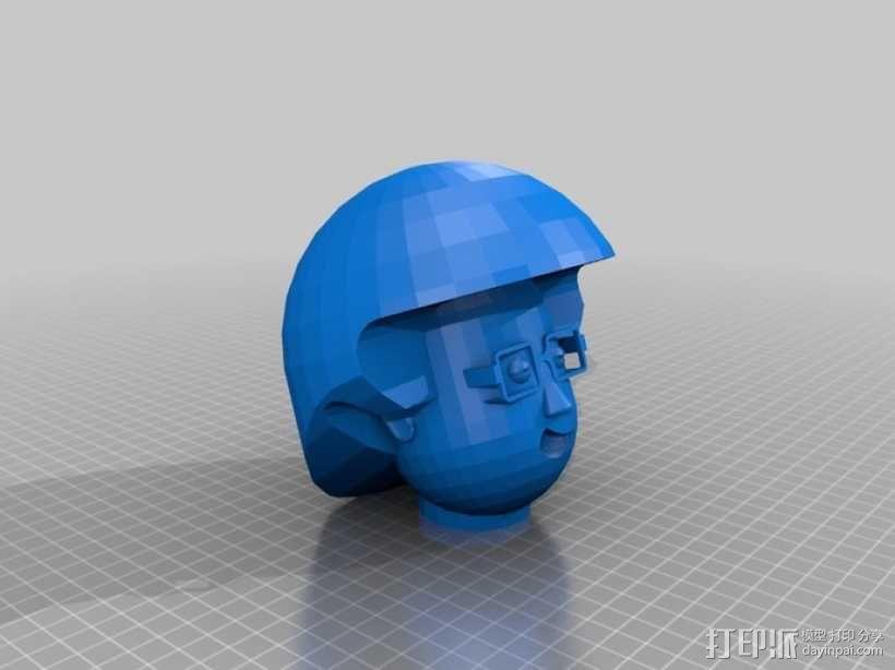 卡通人物头像 3D模型  图7