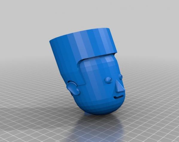 卡通人物头像 3D模型  图9