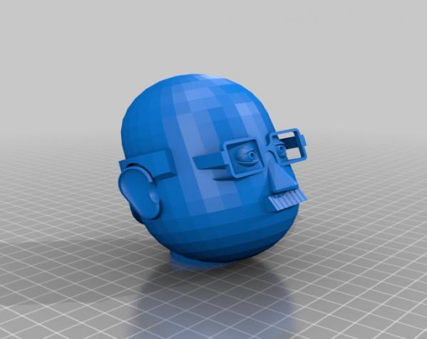 卡通人物头像 3D模型  图10
