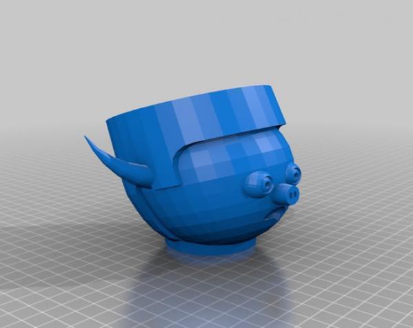 卡通人物头像 3D模型  图12