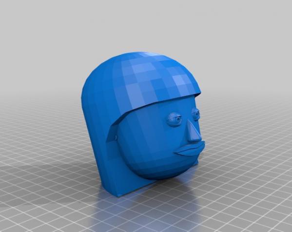 卡通人物头像 3D模型  图11