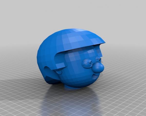 卡通人物头像 3D模型  图15