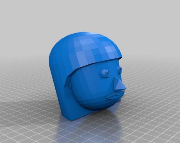 卡通人物头像 3D模型  图13
