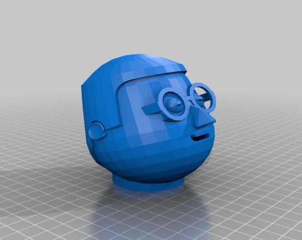 卡通人物头像 3D模型  图17