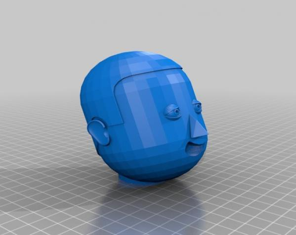 卡通人物头像 3D模型  图19