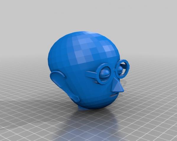卡通人物头像 3D模型  图18